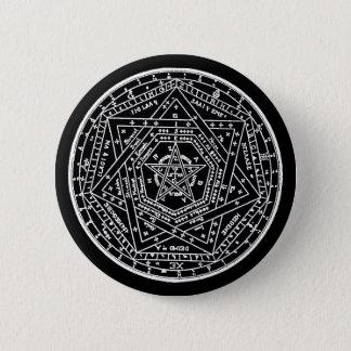 John Dee Tablet 6 Cm Round Badge