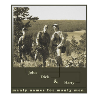 John Dick and Harry Poster