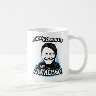 John Edwards is my homeboy Coffee Mugs