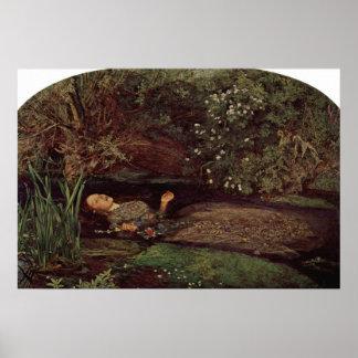 John Everett Millais - Ophelia Poster