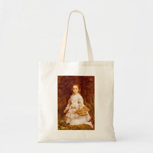 John Everett Millais- Portrait Of Gracia Lees Tote Bags