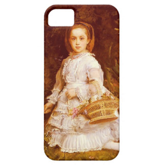 John Everett Millais- Portrait Of Gracia Lees iPhone 5 Cases