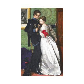 John Everett Millais The Black Brunswicker Canvas Prints