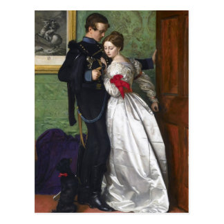John Everett Millais- The Black Brunswicker Postcard
