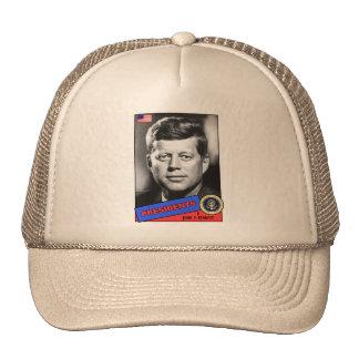 John F. Kennedy Baseball Card Cap