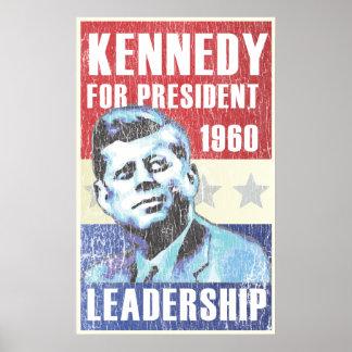 John F. Kennedy Historic Presidential Poster