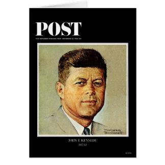John F. Kennedy IN MEMORIAM Card