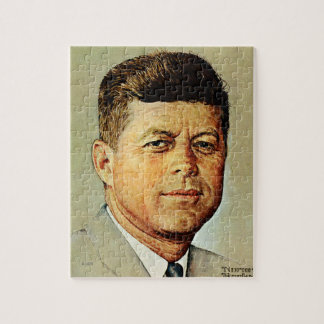 John F. Kennedy IN MEMORIAM Jigsaw Puzzle