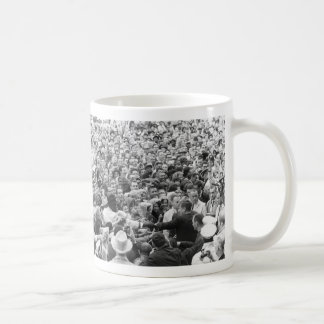 John F Kennedy JFK Fort Worth Rally '63 Basic White Mug
