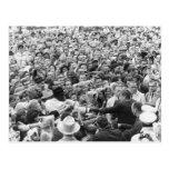 John F Kennedy JFK Fort Worth Rally '63 Postcard