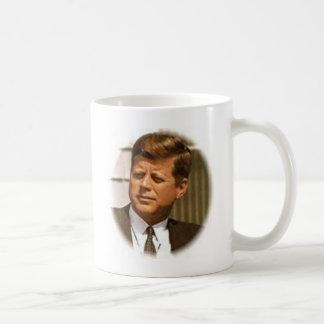 John F Kennedy Basic White Mug