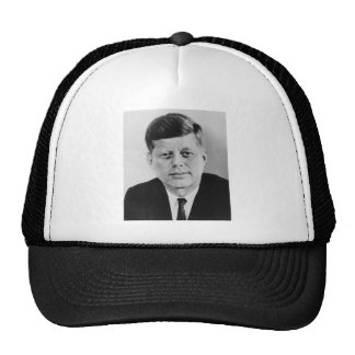 John_F_Kennedy official photo from public domain Cap