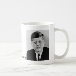 John_F_Kennedy official photo from public domain Coffee Mug