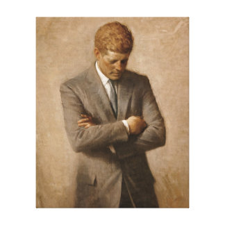 John F. Kennedy Official Portrait Canvas Print