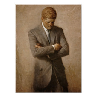 John F. Kennedy Official Portrait Poster
