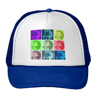 John F Kennedy Pop Art Cap