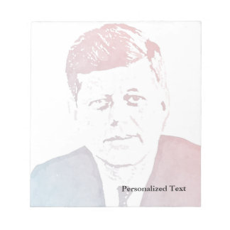 John F. Kennedy Pop Art Portrait Notepads