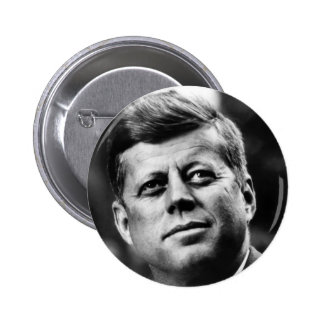 John F Kennedy Portrait 6 Cm Round Badge