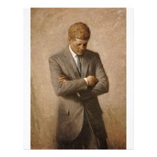 John F Kennedy Portrait Flyers