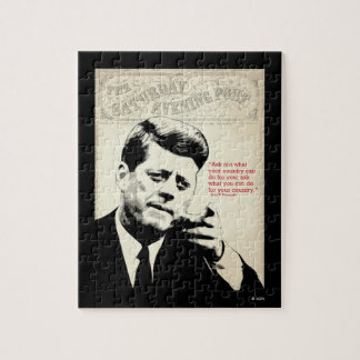 John F. Kennedy Quote Jigsaw Puzzle
