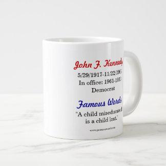 John F. Kennedy Quote Mug Jumbo Mug