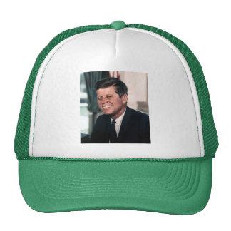 John F. Kennedy White House Color Portrait Cap