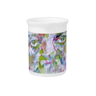 john fitzgerald kennedy - watercolor portrait.1 pitcher