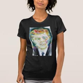 john fitzgerald kennedy - watercolor portrait.2 T-Shirt