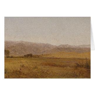 John Frederick Kensett - Snowy Range and Foothills Card