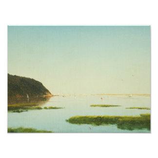 John Frederick Kensett - View of the Shrewsbury Photo Art