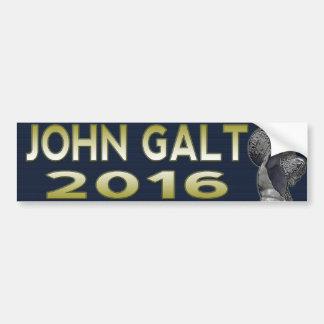 John Galt 2016 Car Bumper Sticker