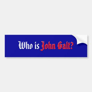 John Galt Car Bumper Sticker