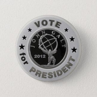 John Galt for President 6 Cm Round Badge