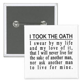 John Galt Oath button