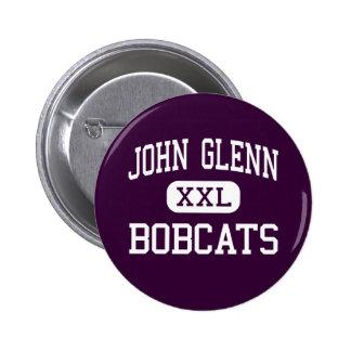 John Glenn - Bobcats - High - Bay City Michigan Pins