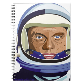 John Glenn Spiral Notebook