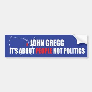 John Gregg Bumper Sticker
