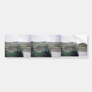John Henry Twachtman- Arques Battle Bumper Stickers