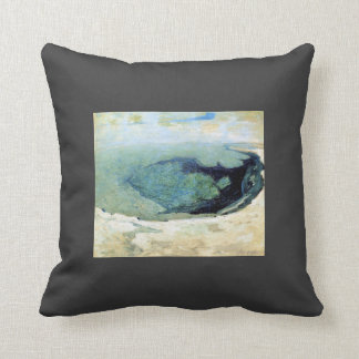 John Henry Twachtman- Emerald Pool 2 Cushion