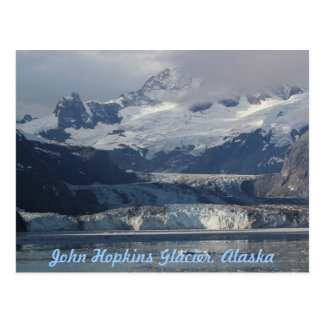 John Hopkins Glacier Alaska Post Card