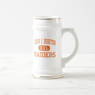 John I Burton - Raiders - High - Norton Virginia Beer Stein