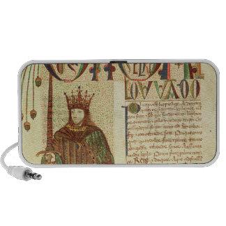 John II  King of Portugal Laptop Speakers