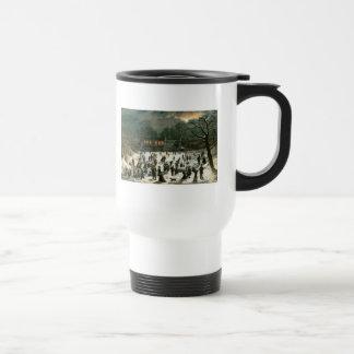 John Inman, Moonlight Skating-Central Park Mugs
