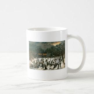 John Inman, Moonlight Skating-Central Park Mug