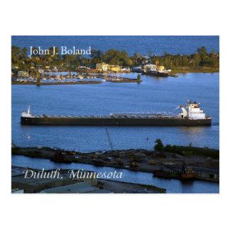 John J. Boland Duluth post card