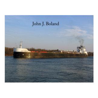 John J. Boland post card