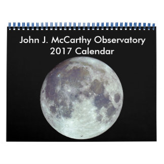 John J. McCarthy Observatory 2017 Calendar