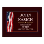 John Kasich for President V3 Postcard