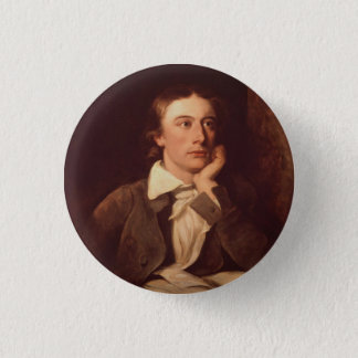 John Keats 3 Cm Round Badge
