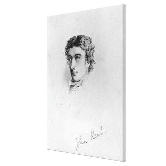 John Keats Canvas Print